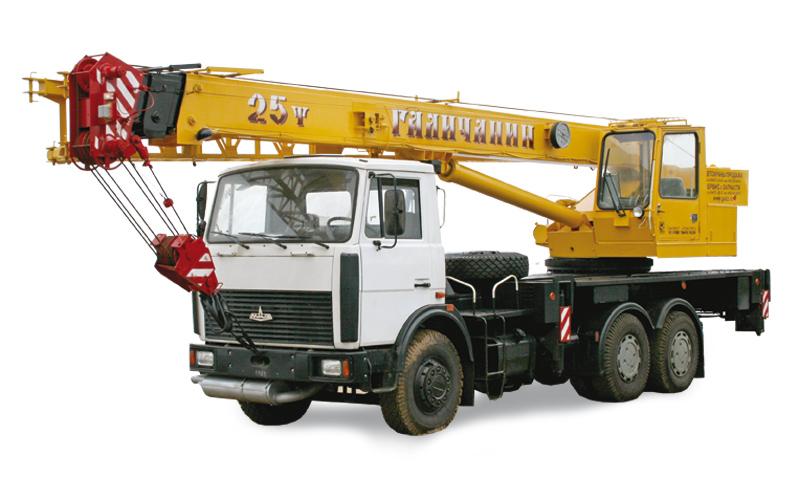 Автокран КС-55713-6 Галичанин 25 тонн на шасси МАЗ-6303А3