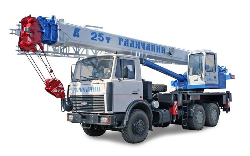Автокран КС-55713-6В Галичанин 25 тонн на шасси МАЗ-6303А3